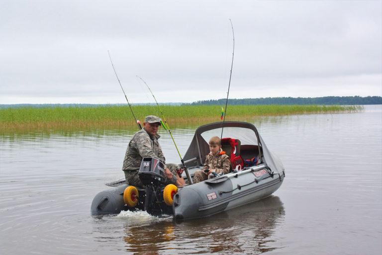 Рыбалка на озере Отрадное. База отдыха Розовая дача