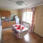 Кухня коттеджа Комфорт с 1 спальней. База отдыха Розовая дача